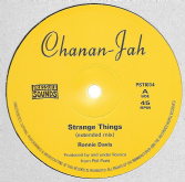 SALE ITEM - Ronnie Davis - Strange Things / Black Cinderella (Chanan-Jah / Pressure Sounds) 10""